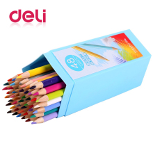 Deli 48 colored Pencil for School supplies Stationery Painting Drawing Colored Pencils colored pencil child painting pencil стоимость