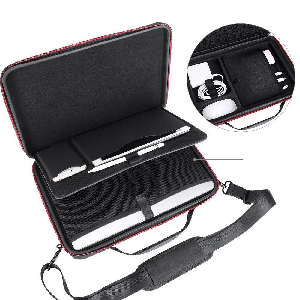 Smatree Dur Ordinateur Portable Sac Pour Macbook Pro 13 pouce Macbook Pro 15.4, apple Macbook Air 13.3 InchLaptop Sac D'épaule Sac