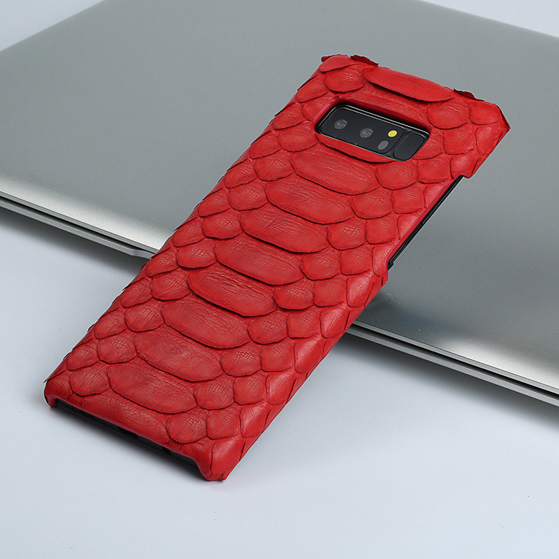 Genuine Leather Python skin phone case For Samsung galaxy s10 Plus Snakeskins case for s8 S9 s7 a50 A70 a40 a30 a8 a7 2018 cover
