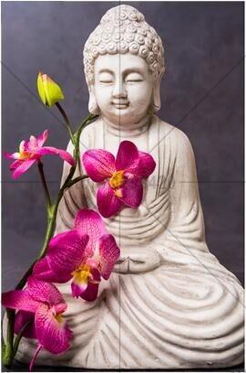 100% 5D Diamond slikarstvo religija križ Stitch orhideja Buddha - Umjetnost, obrt i šivanje