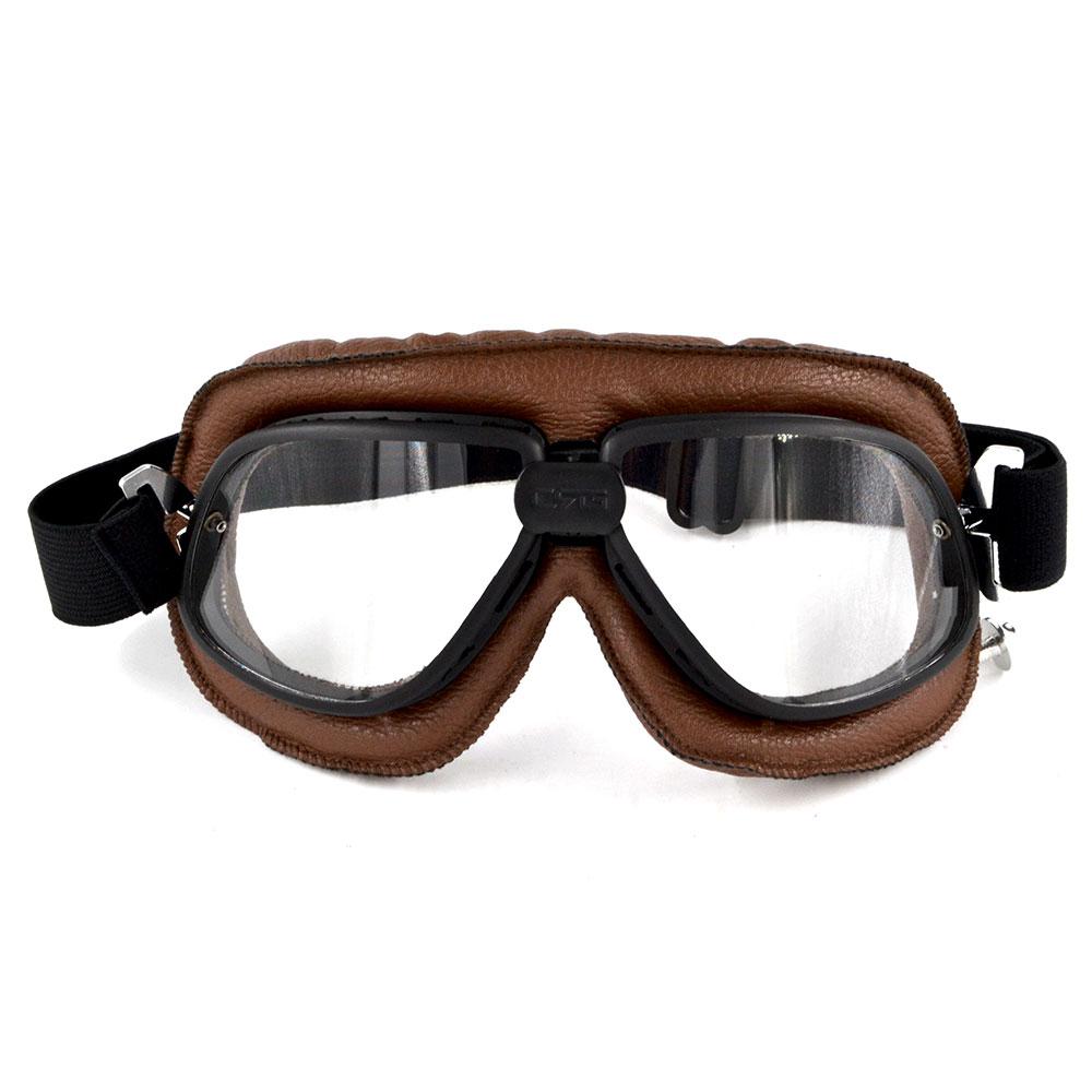 10PCS Motorcycle Cruiser Goggles Dirt Bikes Racing Glasses Eyewear Retro Aviator Pilot Helmet Driving