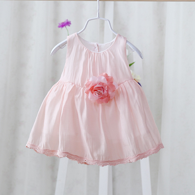 33d5925799169 New 2017 summer infant baby lace dress children dress girls fashion cute  princess dress party dress-in Dresses from Mother & Kids