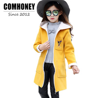 Children Jackets Fashion Girls Trench Coat Baby Outwear Spring Autumn Button Polka Parka Kids Coat For