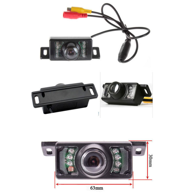 ANSHILONG 3 in 1 Wireless Parking Camera Monitor Video System DC 12V Car Monitor With Rear View Camera Wireless Kit in Vehicle Camera from Automobiles Motorcycles