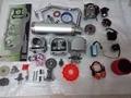 A9 Cam Performance Kit Big Bore 100cc 139QMB Variator GY6 CDI Bobina 50mm 1P39QMA con Alto Rendimiento Mufla