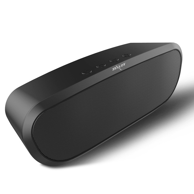 New Original Zealot S9 Sem Fio Bluetooth Stereo Speaker Portátil Music Player Apoio TF Cartão USB 12 h de Reprodução de Música