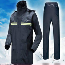 rain suit motorcycle Rider Raincoat scooter coat S M L XL XXL XXXL DEEP BLUE  RED FREE SHIPPING
