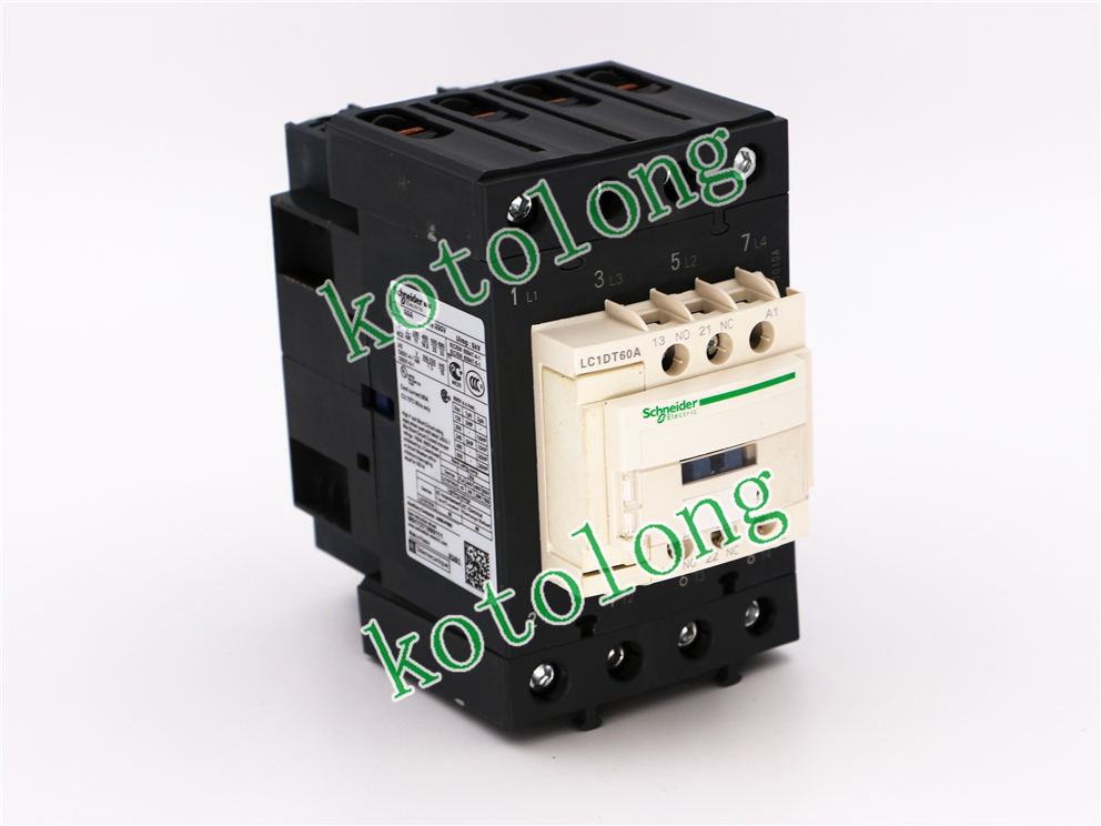 AC Contactor  LC1DT60A  LC1-DT60A LC1DT60AB7 24V LC1DT60AC7 32V LC1DT60AD7 42V  LC1DT60AE7 48V dc contactor lc1d09kd lc1 d09kd 100vdc lc1d09ld lc1 d09ld 200vdc lc1d09md lc1 d09md 220vdc lc1d09nd lc1 d09nd 60vdc