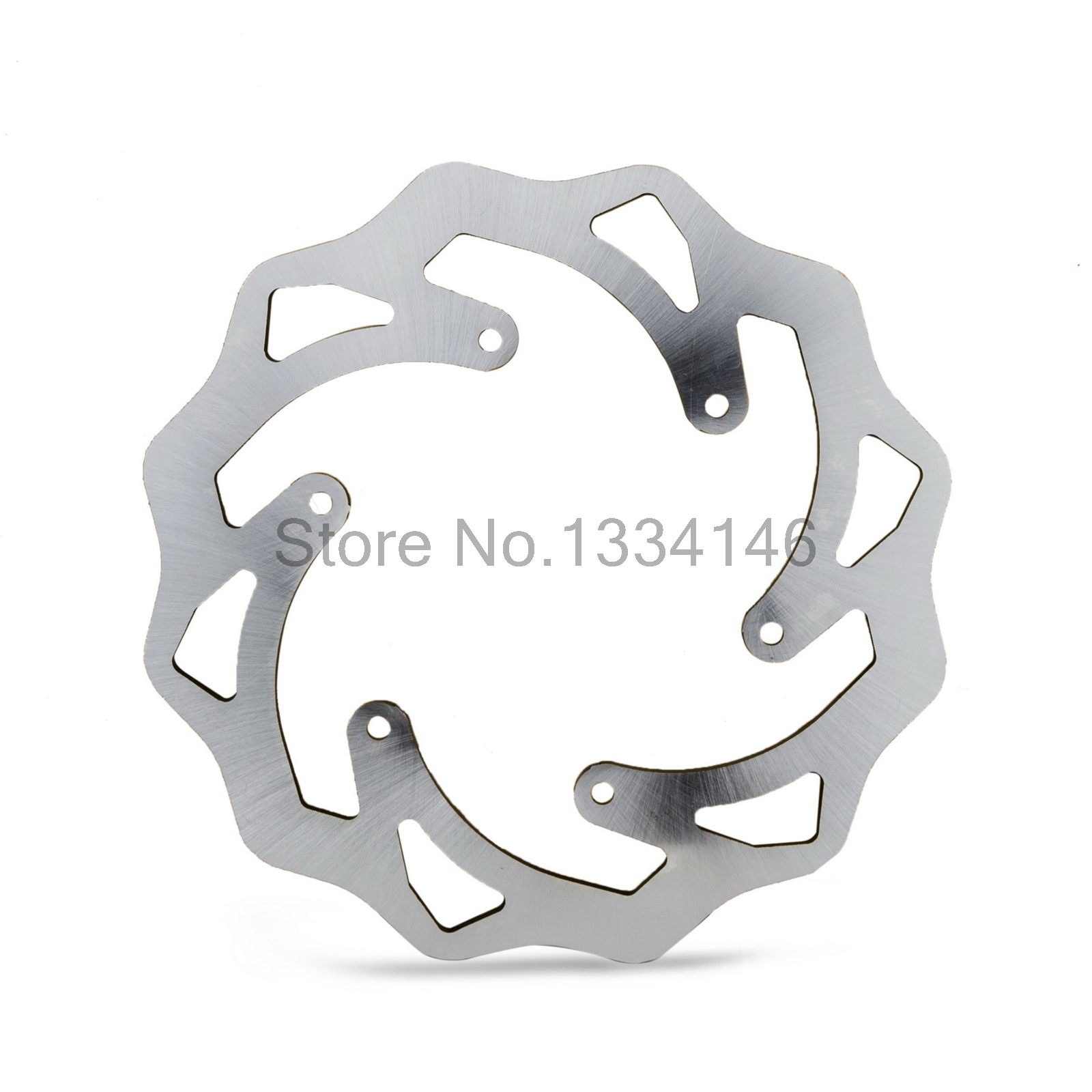 Motorcycle Rear Brake Disc Rotor For KTM 125 250 300 400 450 525 540 600 625 640 EXC Six Days SX MXC SXF EXCF XCW LC4 ENDURO XCF l r aluminum radiator for ktm 400 450 525 540 sx exc mxc 2003 2007 2004 2005 2006