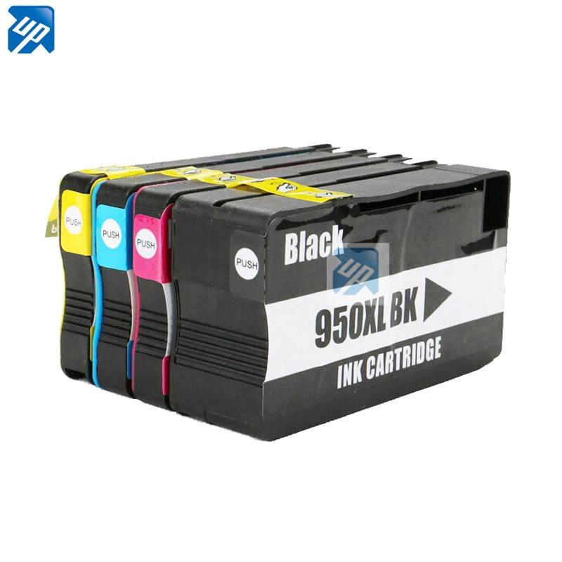 4 ink cartridges for hp 950 951 xl officejet pro 8100 8600 8630 8640 8610 8620 8680 8615 8625. Black Bedroom Furniture Sets. Home Design Ideas