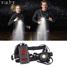 2200mAh Safety Night Outdoor Sport Running Lights L2 LED Night Running Flashlight Warning Lights Cycling USB Charge Chest Lamp new arrivals warning waist belt tape lamp led light outdoor night cycling running working workplace safety supplies accessories