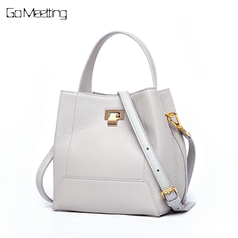 Go Meetting Women Shoulder Messenger Bags Genuine Soft Leather Handbag Female Fashion Crossbody Bag Ladies Solid Small Tote Bag стоимость