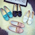 2016 New Summer Fashion Shoe Rounded Toe Low-fronted Bowknot Casual Comfortable Women Flat Shoe HSC24
