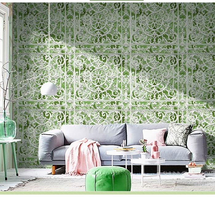Wholesale Vinyl PVC Waterproof Wallpaper 3d Print Flower