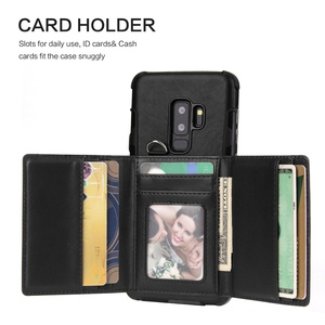 Image 2 - Wallet Flip Cover For Samsung Galaxy Note 9 8 Note8 Luxury Shockproof Coque For Samsung Galaxy s8 s9 plus Note9 Case S9plus S10