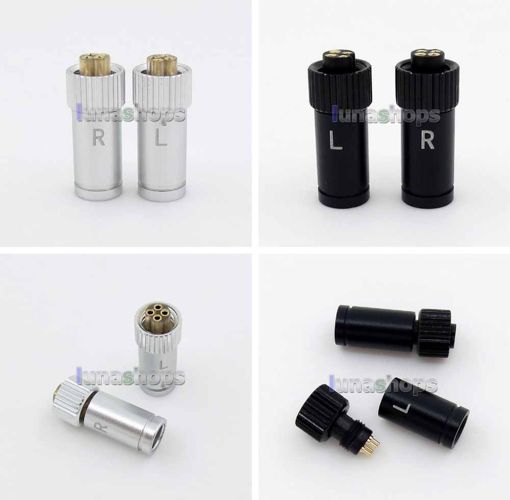Straight DIY XLR Earphone Pin Adapter For JH AUDIO JH24 Roxanne 24 Iriver AK R03 AKR02 LN005852 frequency divider adapter for jh audio jh24 roxanne akr03 layla angie earphone pin 1pcs