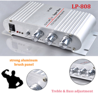2 0 Channel 2X20W RMS Output Power Amplifier Mini Hi Fi Audio Stereo Amplifier For Cars