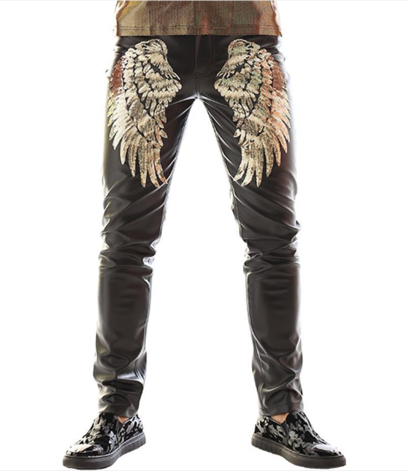 Rock pant gold wing Men