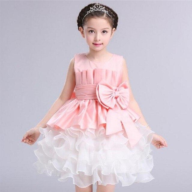 Bebé Niña de las Flores Vestido de Fiesta de Los Niños ropa Para Niños Adolescentes Niña Vestidos de Novia de Tul de Baile de Fiesta Formal ...