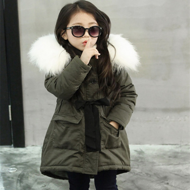 MUQGEW Kids Boys Girls Coat Padded Winter Thick Solid