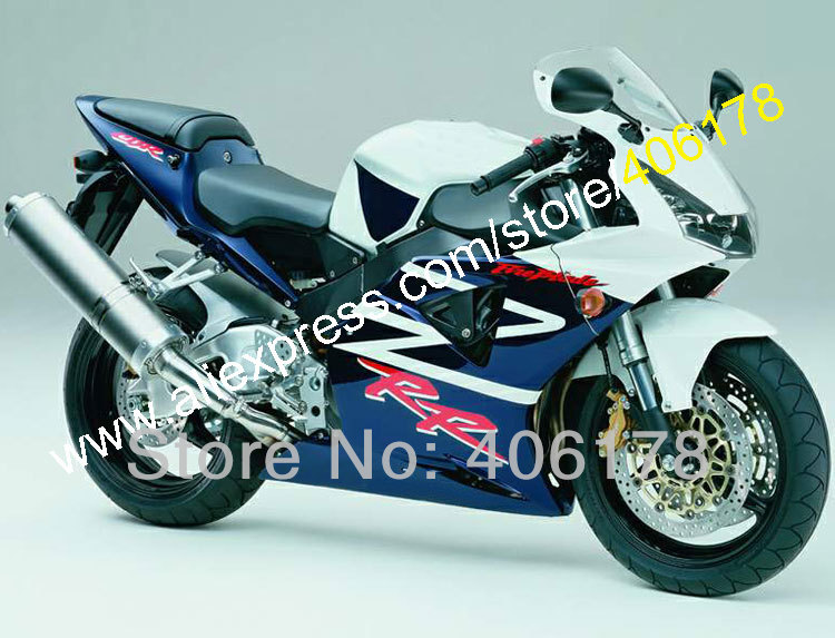 Hot Sales,For HONDA CBR954RR 02 03 CBR900RR CBR 954 954RR CBR954 RR 2002 2003 CBR900 900RR ABS Fairing Kit (Injection molding)