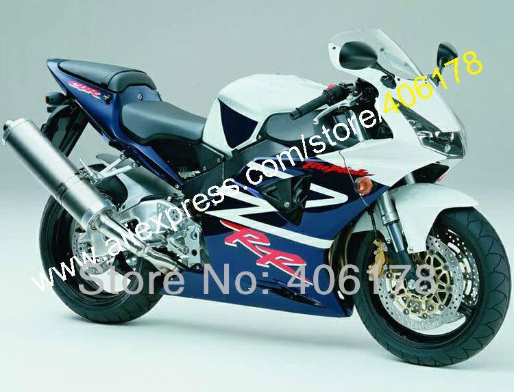 Hot Sales,For HONDA CBR954RR 02 03 CBR900RR CBR 954 954RR CBR954 RR 2002 2003 CBR900 900RR ABS Fairing Kit (Injection molding)