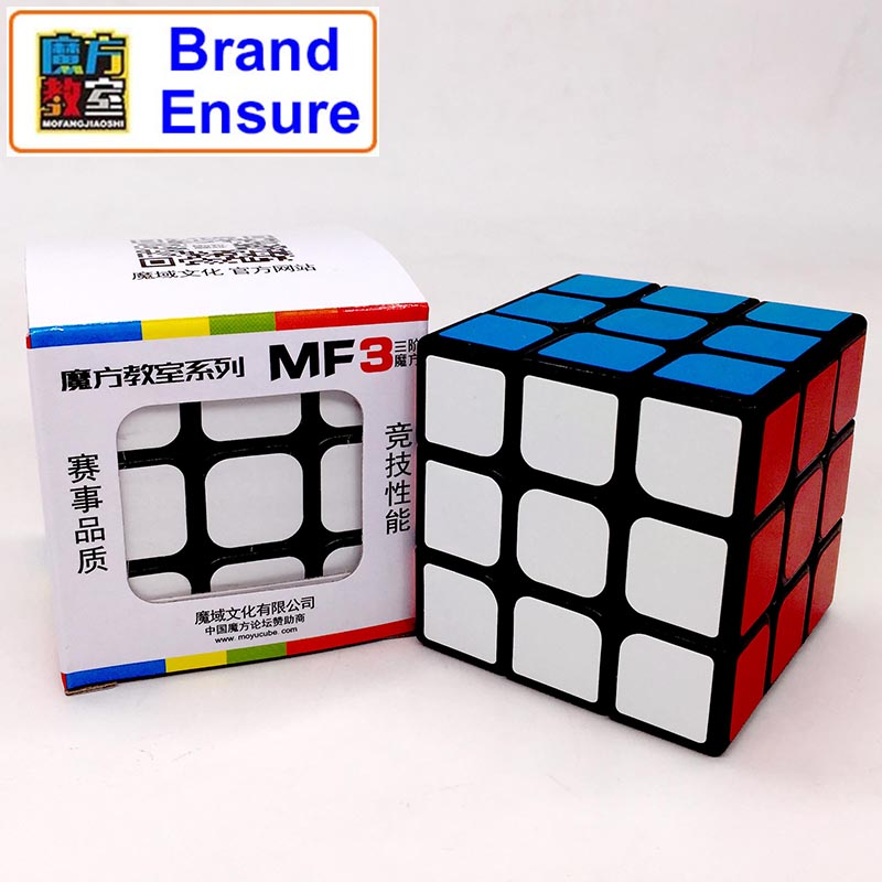 Brand Assurance MOFANGJIAOSHI 3x3x3 Magic Cube Profissional Competition Speed Cubo Puzzle Rubiks Cube Cool Children Toys MF308 newest qiyi warrior w 3x3x3 profissional magic cube competition speed puzzle cubes toys for children kids cubo magico qi103