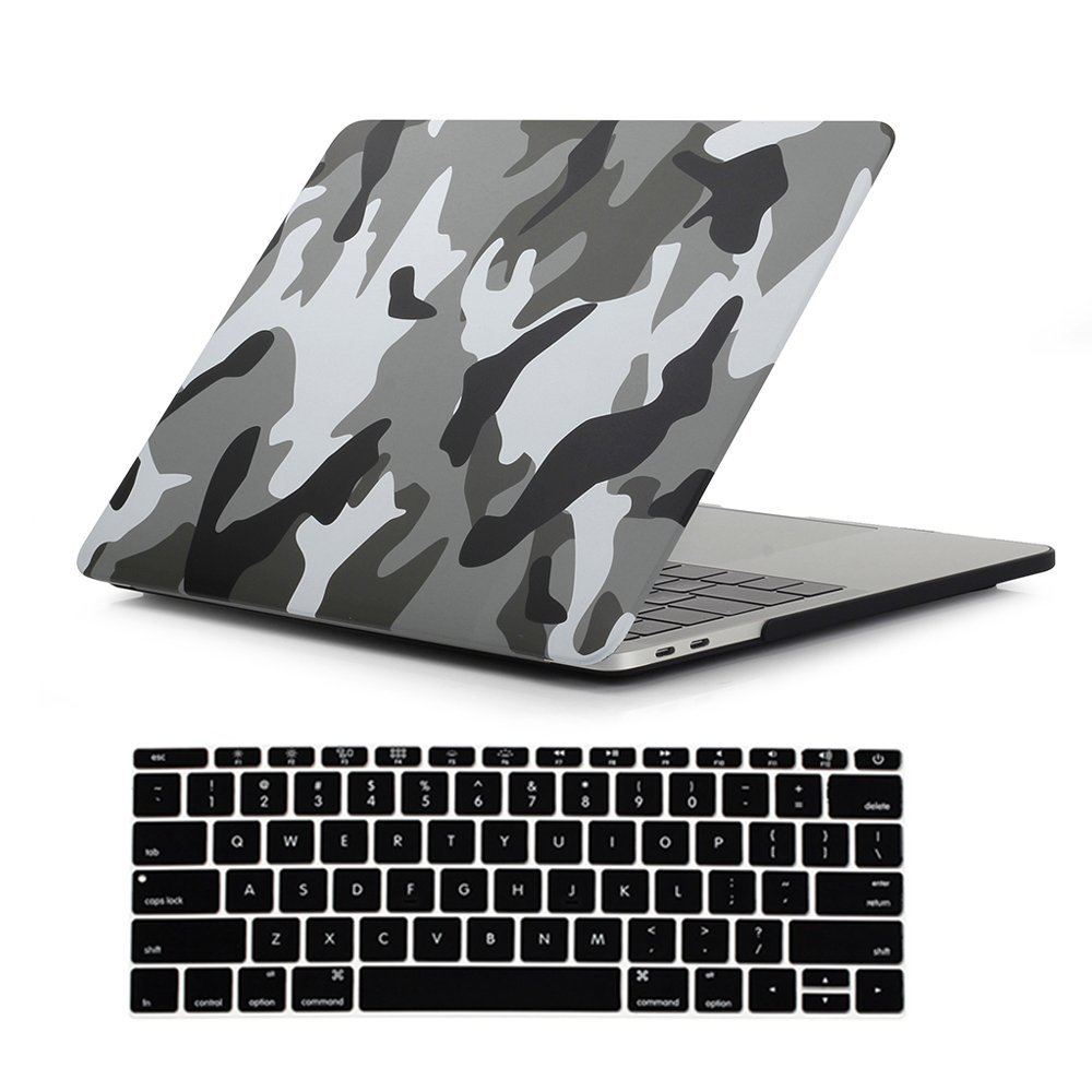 "Image 3 - Camouflage Pattern Matte Hard Case for Macbook Pro 13 15 with touch bar 2016 2017 2018 Laptop Case For New Mac book Pro 13.3""-in Laptop Bags & Cases from Computer & Office"