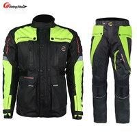 Riding Tribe Men S Motorcycle Off Road Racing Set Windproof Waterproof Motorcross Touring Travel Jacket Pants