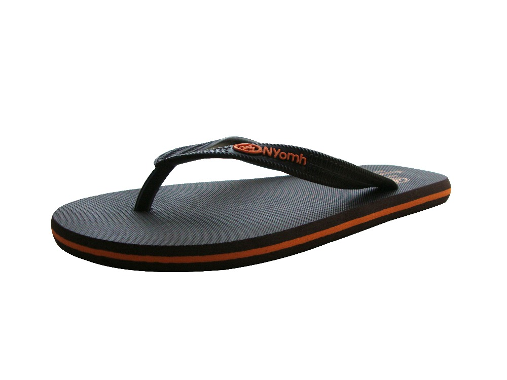 Brand Clip Toe Quality Rubber Men s Casual Sport Sandals Simple Flat Printing Summer Style Flip