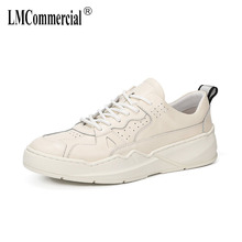 Spring fashion Small black shoes male Genuine Leather retro casual shoes men cowhide breathable sneaker fashion Leisure shoes g n shi jia black genuine leather upper rubber outsole men s leisure shoes sewing soft outdoor retro male casual shoes 888330