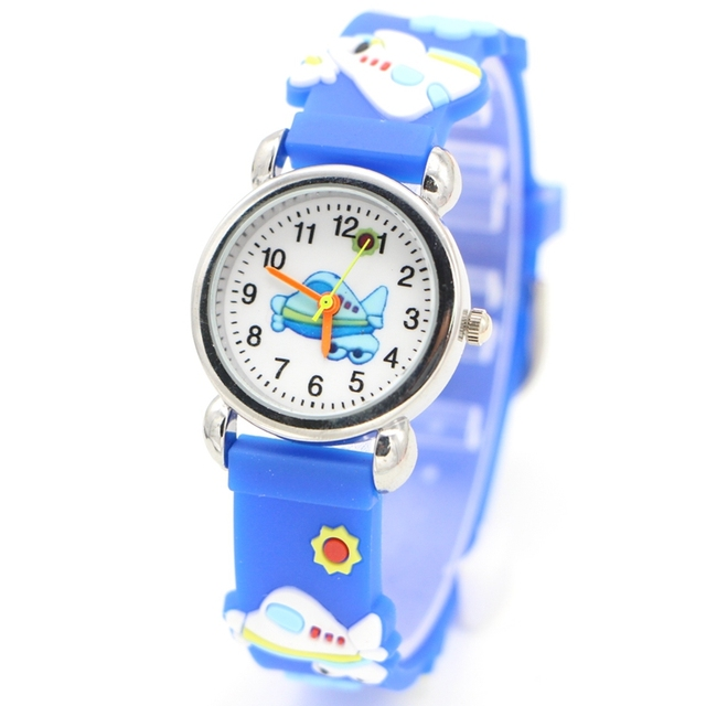 Environmental protection aircraft Design Watch Children Kids Girls Boys Students