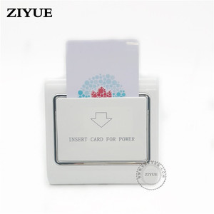 Image 3 - 20pcs/lot Any Card Power Switch Energy Saving Switch for Hotel Key Card Switch Credit Card Paper Bank Card works