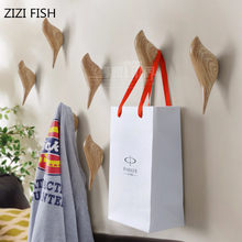 stereoscopic Animals wall hook Bird Resin home accessories Kitchen Towel Coat robe hook wall Hooks for bathroom(China)
