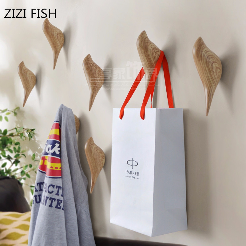 Stereoscopic Animals Wall Hook Bird Resin Home Accessories Kitchen Towel Coat Robe Hook Wall Hooks For Bathroom