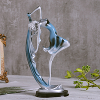 Resin Minitures Taxidermy Character Creative Dancer Decor Home Decoration Accessories Contracted Desk Decoration Holiday gifts