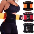 waist trainer Tummy Girdle Belt Underbust Corsest Stripe Control Waist Trainer Bustier Body Cincher Plus Size S-2XL