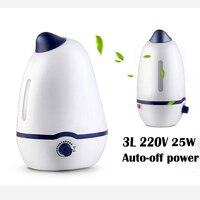 Big Capacity 3L Air Humidifier Essential Oil Diffuser Ultrasonic Mist Maker Fogger Mist Maker Diffuser Aroma