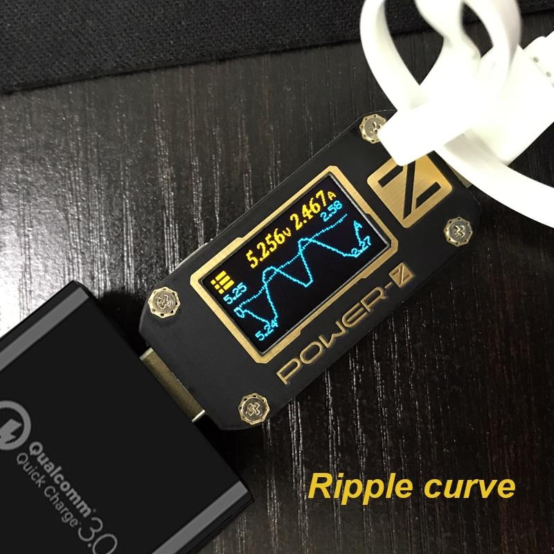 POWER-Z QC3.0 / PD USB teszter Digitális voltmérő amperimetro - Mérőműszerek - Fénykép 6