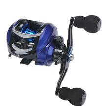 Left/Right-handed Long Throw Full Metal Fish Wheel High-speed Ratio 7.2:1 Professional Water Drop Fishing