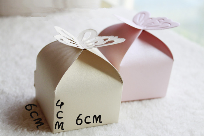 Butterfly Candy Box Wedding Decoration Gift