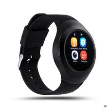 Steel Full Round Electronic Smart Watch L6S Smart Monitor SleepTracker Wearable Devices for Apple Androld Iphone