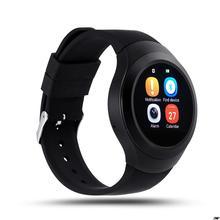 Edelstahl Runde Elektronische Smart-uhr L6S Smart Monitor SleepTracker Tragbare Geräte für Apple Androld Iphone Smartwatch