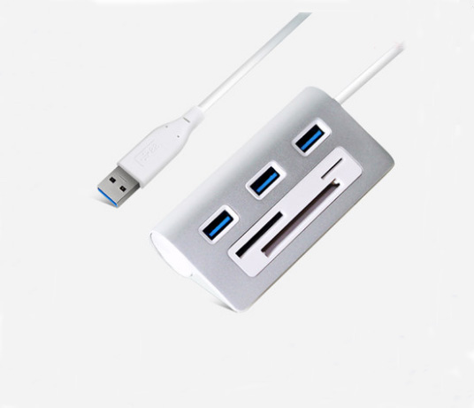 Multi USB Combo USB Hub 3.0 3 Ports With Card Reader All in One USB Splitter 5Gbps For SD/MMC,TF Portable For PC Laptop orico usb hub 20 usb ports industrial usb2 0 hub usb splitter with 2 models data transmission ih20p