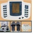 JR-309 meridiano digital de massagem com chinelos de intermediário no domínio da freqüência massageador + 4 almofadas de eletrodo