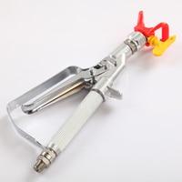 1PC 3600 PSI 248bar Airless Paint Sprayer Inline Gun With 517 Black Spray Tip High Quality