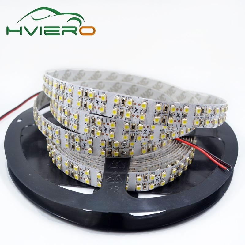 5m 2835 3528 SMD 1200Leds DC 12V dubbele lijn geleid flexibel - LED-Verlichting
