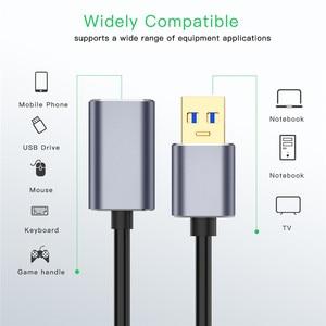 Image 3 - 0,5 m 1m 1,5 m USB Verlängerung Kabel Super Speed USB 3,0 Kabel Männlich Zu Weiblich Daten Transfer Sync kabel Code Für PC Kamera Maus