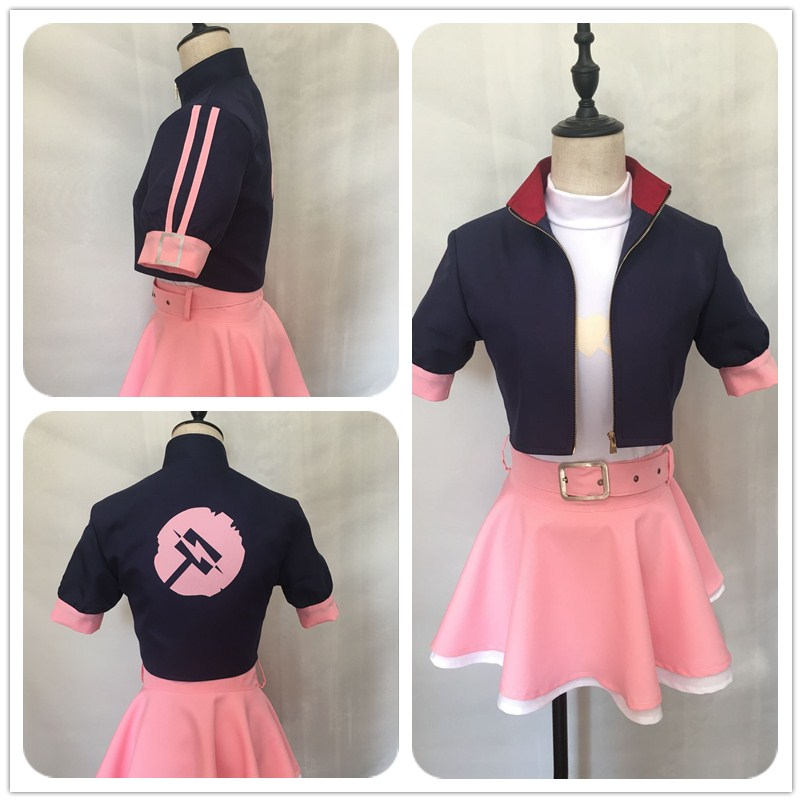 Free shipping Anime RWBY Cosplay Nora Valkyrie Cos Halloween Man Woman Cosplay Costume Can be tailored