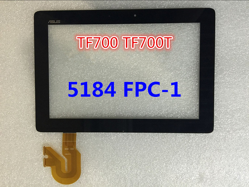 ФОТО For Asus Transformer Pad TF700 TF700T 5184N FPC-1 Black digitizer touch screen Glass